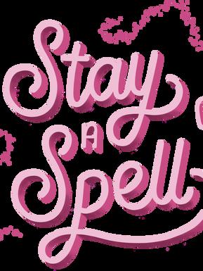 Stay a Spell logo 1