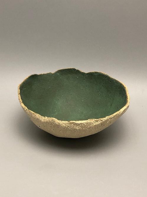 Jade Hand Pinched Bowl