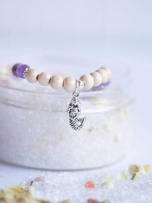 Mermaid -  Magic Bath Dust & Crystal Bracelet