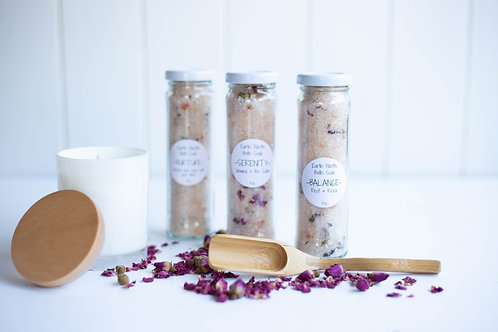 Trio of Soaks & Candle Gift Pack