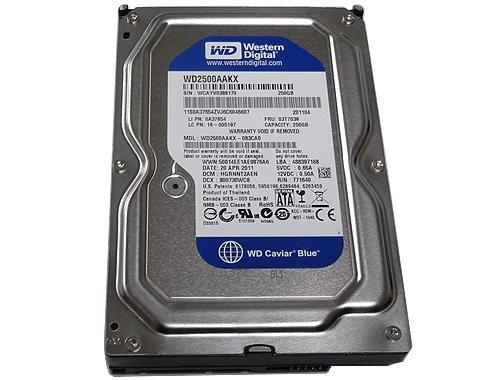 "WD 250GB 3.5"" SATA HDD"