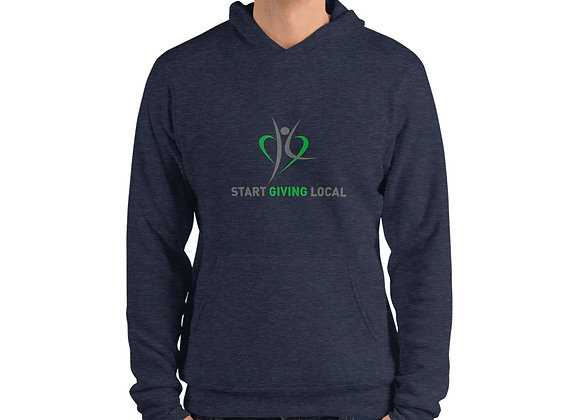 Start Giving Local Charity Unisex hoodie