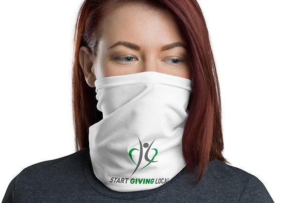 Start Giving Local Charity Neck Gaiter/ Facemask