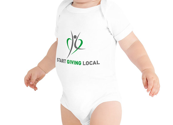 Start Giving Local Charity Onsie T-Shirt