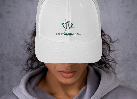 Start Giving Local Charity Trucker Cap