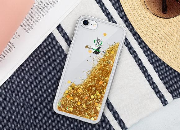 Start Giving Local Charity Liquid Glitter Phone Case