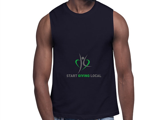 Start Giving Local Charity Muscle Shirt