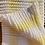 Thumbnail: Baby Blanket, yellow and white