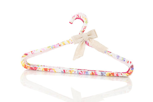 Fabric wrapped Children's clothes hangers