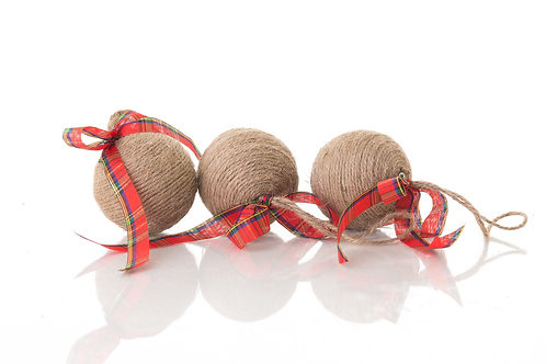 Rustic Twine bauble