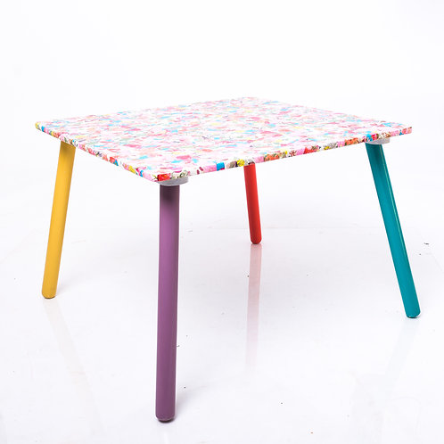 Decoupaged table - coffee ,children's or end table