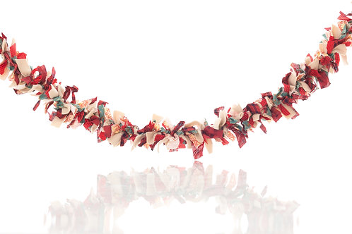 Ragged Christmas Garland