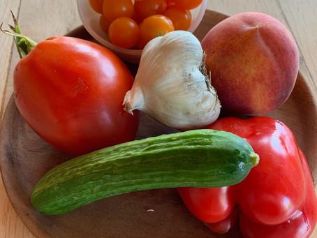 ガスパッチョ 夏、旬の野菜の旨味たっぷり