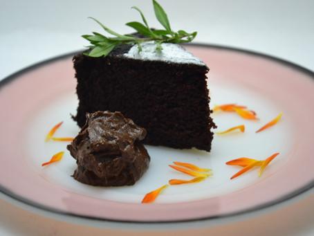 ビーガン・チョコレート・ケーキ