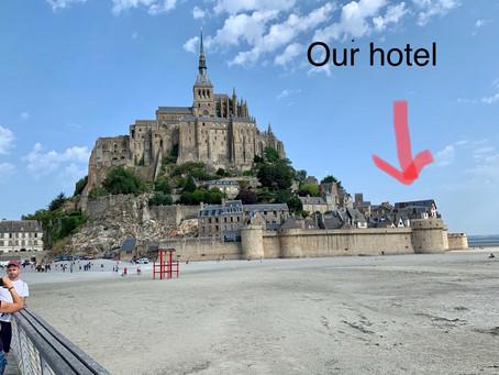 今となれば良き思い出 モン・サン・ミッシェルのホテル