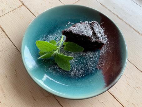 ビーガン・バナナ・チョコレートケーキ