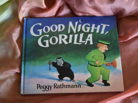 """字の少ない絵本を読む """"Good Night, Gorilla"""""""