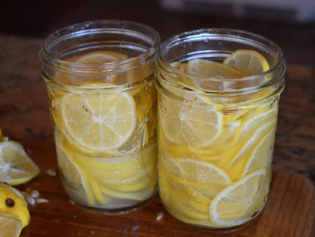 来年のために塩レモン