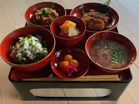 念願叶い日本で精進料理を作ります♪