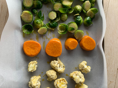 料理は段取り:付け合わせ野菜の下ごしらえはまとめて