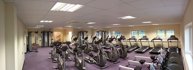 Completed installation of fitness equipment at the John Kyrle High School Gym
