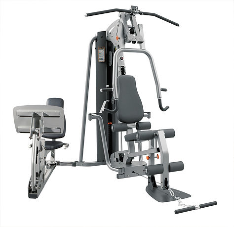 Life Fitness G4 Home with optional leg press