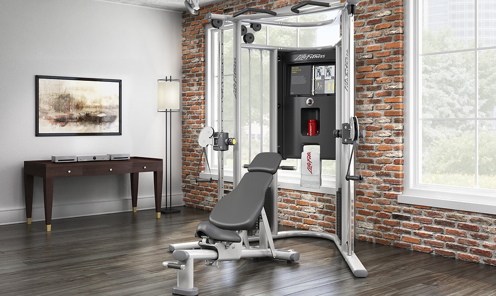Life Fitness G7 Functional Trainer Gym in room