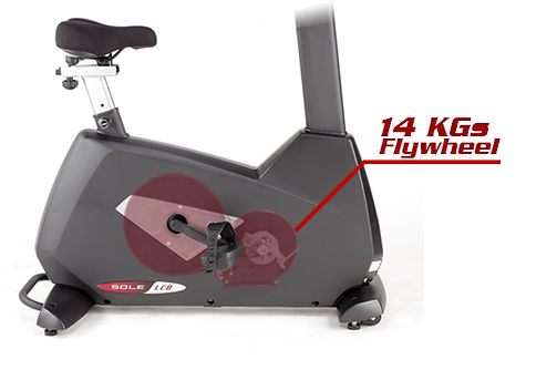Sole LCB Upright Bike 14kg heavy flywheel
