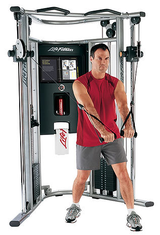Life Fitness G7 Functional Trainer Gym being used by male