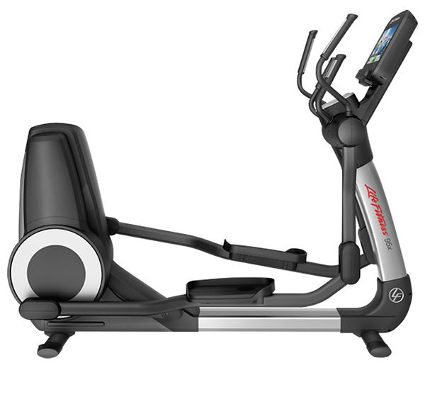 Life Fitness Platinum Club elliptical crosstrainer side view