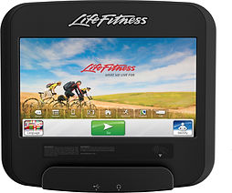 Life Fitness Platinum Club recumbent Lifecycle bike SI Tablet