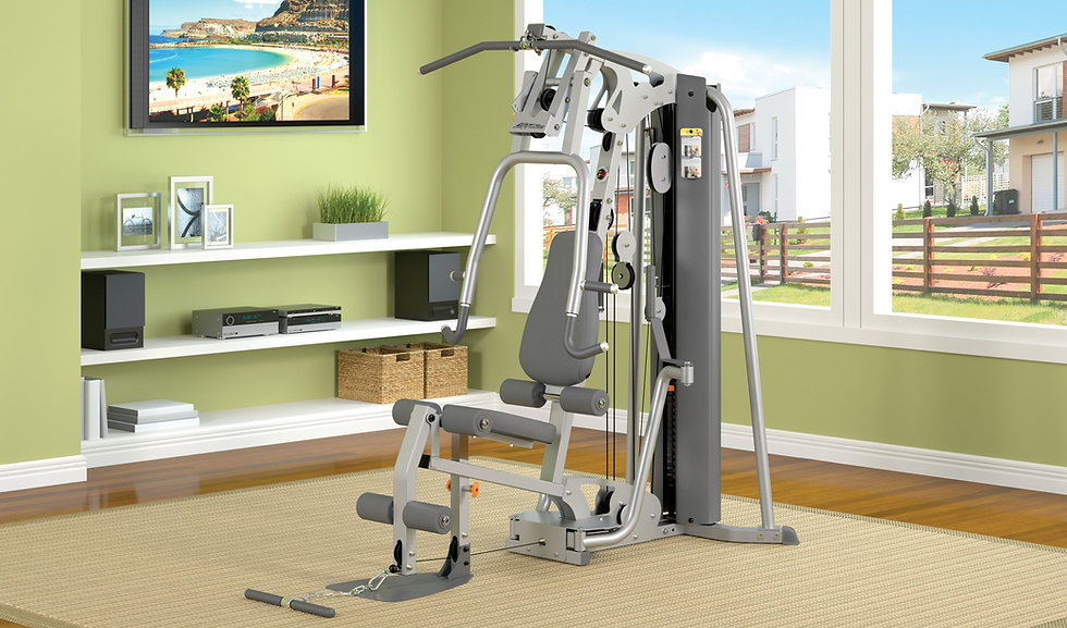 Life Fitness G4 Home gym in room