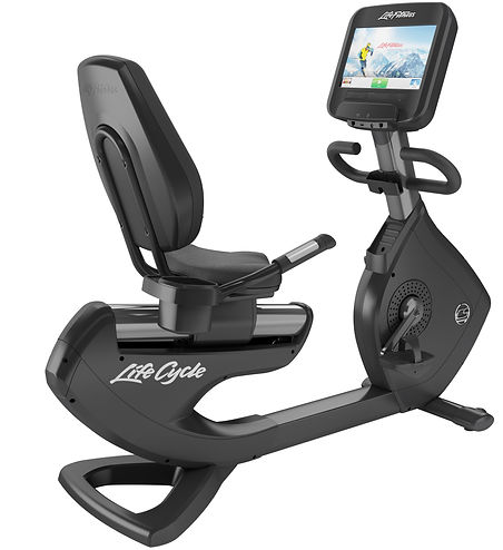Life Fitness Platinum Club recumbent Lifecycle bike