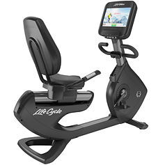 Life Fitness Platinum Club recumbent bike