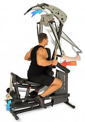 Inspire BL1 Body Lift home gym with male model