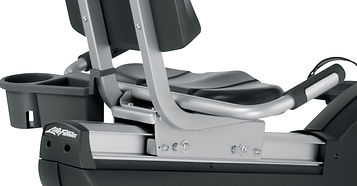 Life Fitness Club series recumbent exercise bike seat and backrest