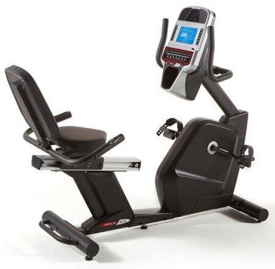 Sole R72 Recumbent Bike with easy walk through