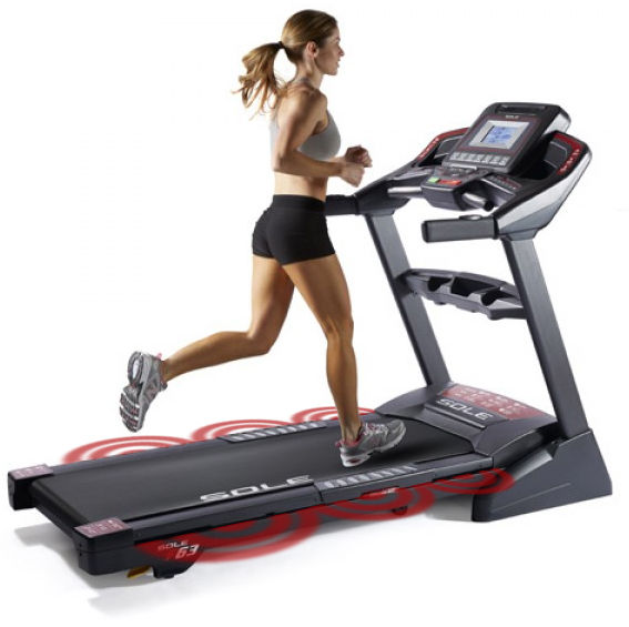Sole F65 Treadmill Cusioned Deck