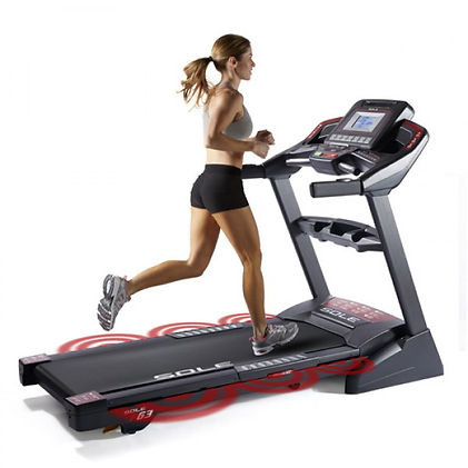 Sole F63 Treadmill Cushioned Running Deck