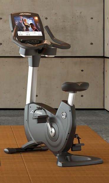 Life Fitness Platinum Club Upright Lifecycle in Japanese room
