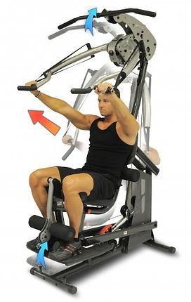Inspire BL1 Body Lift gym with male model