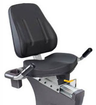 Spirit CR800 Recumbent Bike seat and backrest