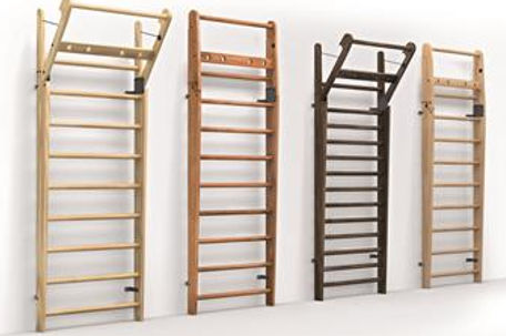 Nohrd Wallbars in the different wood finishes