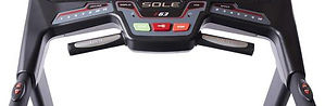 Sole F63 Treadmill handgrip pulse