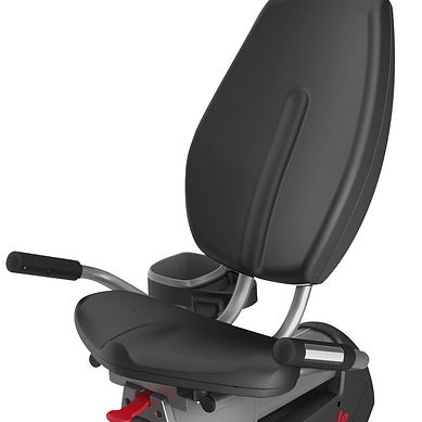 Life Fitness Platinum Club recumbent Lifecycle bike seat and backrest