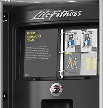 Life Fitness G7 Functional Trainer Home Gym exercise chart