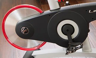 Life Fitness GX Exercise Bike flywheel