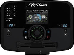 Life Fitness Flexstride Variable Strider Explore console