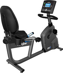 Life Fitness RS3 self generating recumbent bike