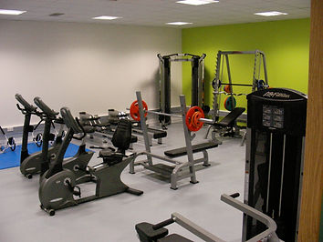 Completed installation of fitness equipment at college